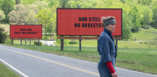 Three Billboards Outside Ebbing, Missouri anmeldelse